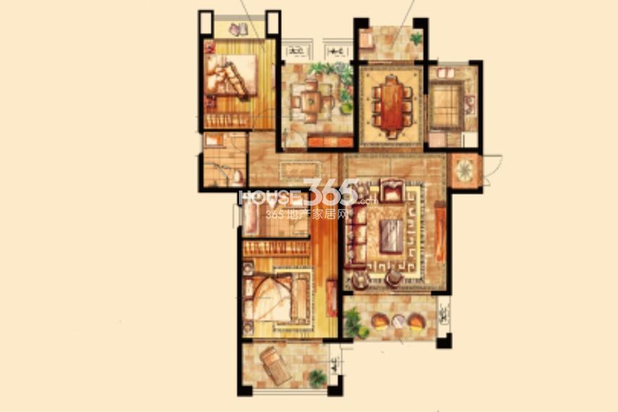立新苏杭之星6#楼135平米