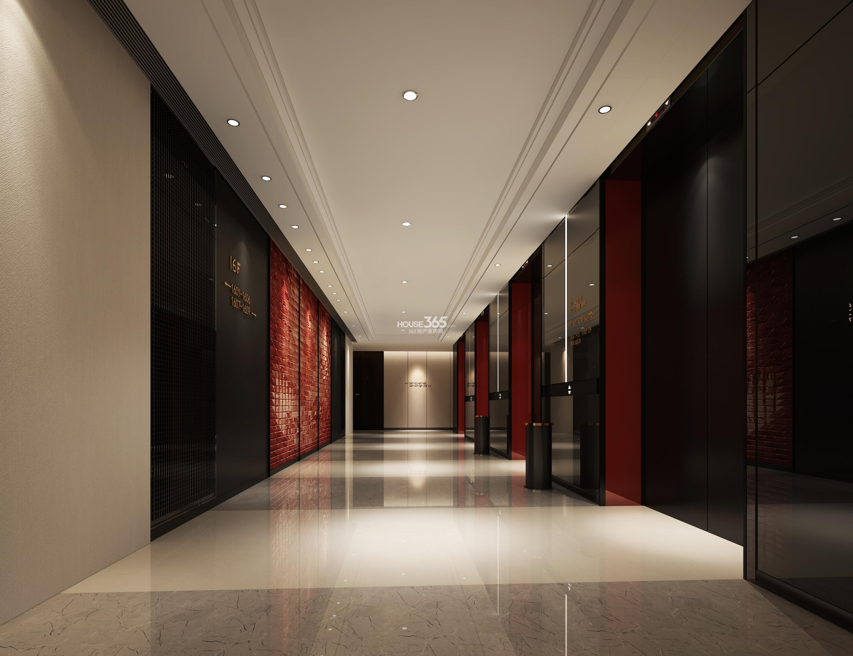 写字楼走廊酒店过道效果图高清图片