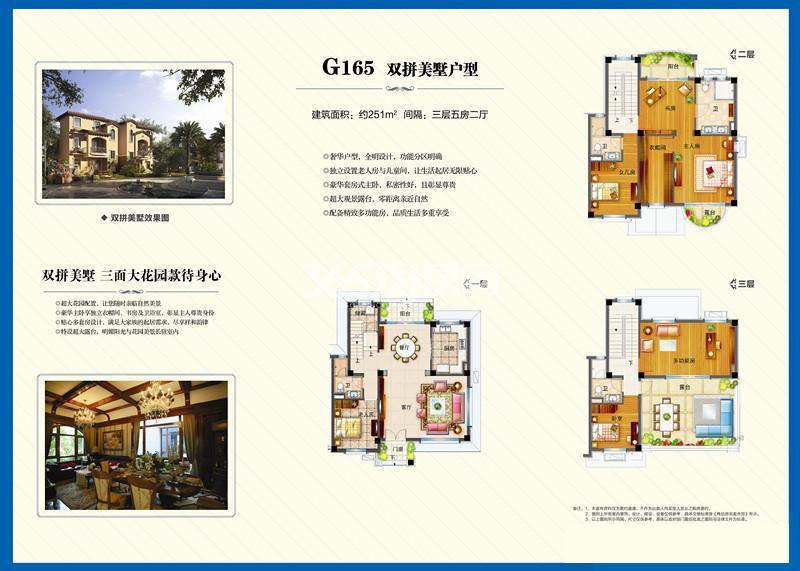 碧桂园251㎡五室两厅