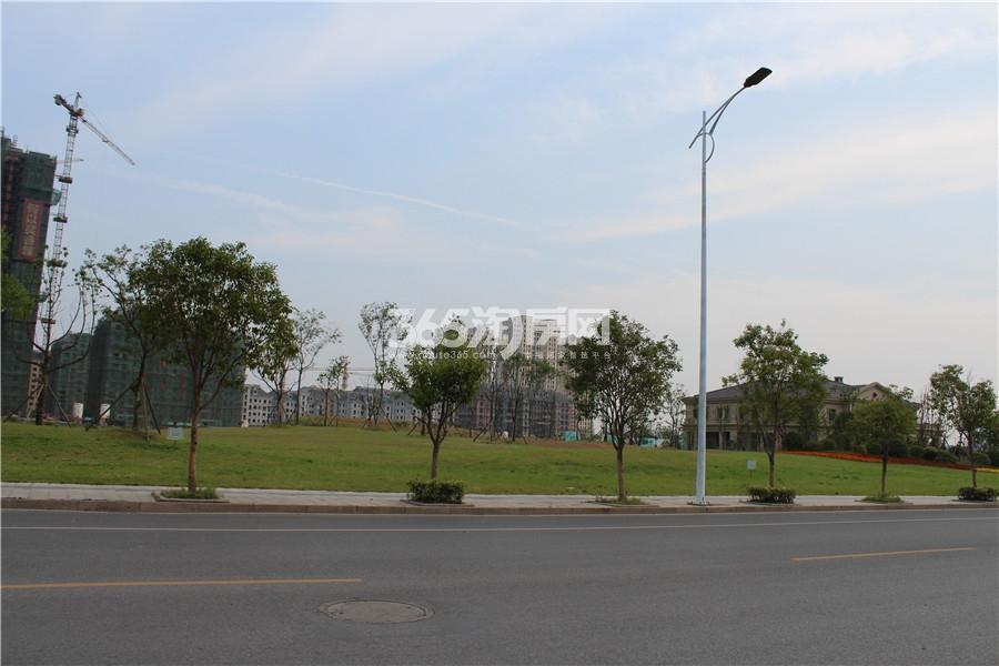 2015年5月25日香颂溪岸实景图
