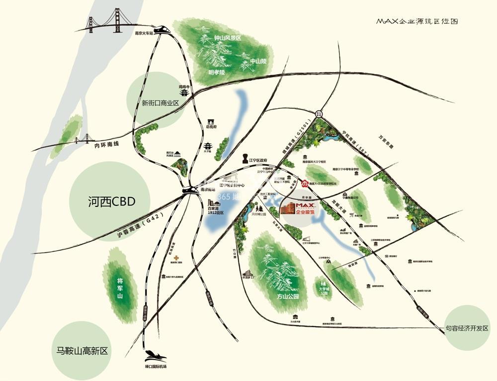 MAX企业源筑交通图