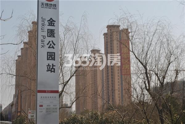 雅居乐中央府周边交通(2016.02摄)