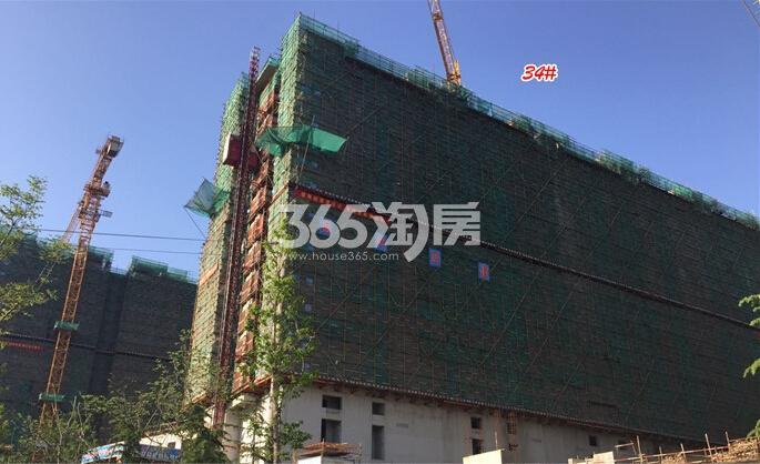 高科荣境二期小高层楼栋实景图(4.21)