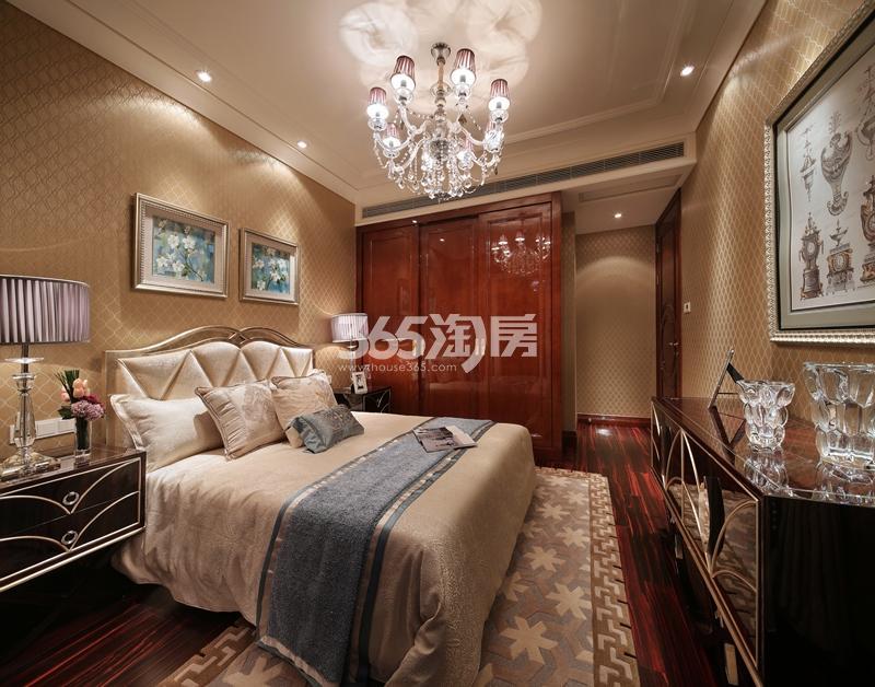 滨江华家池住宅14#139方边套样板房——卧室