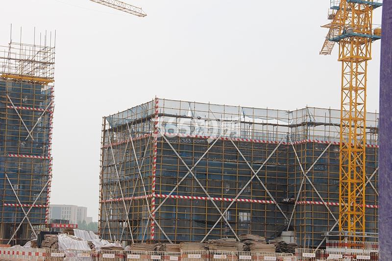 中国铁建西湖国际城施工进程(2017.6)