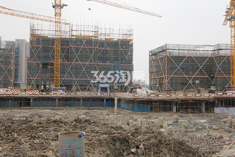 中国铁建西湖国际城实景图(2017.6)