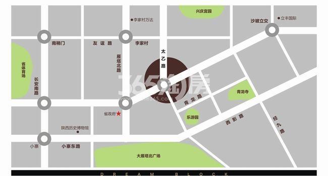 时光国际交通图