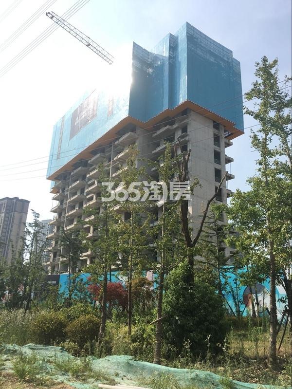 启迪协信无锡科技城A地块2#楼实景图(2017.7)