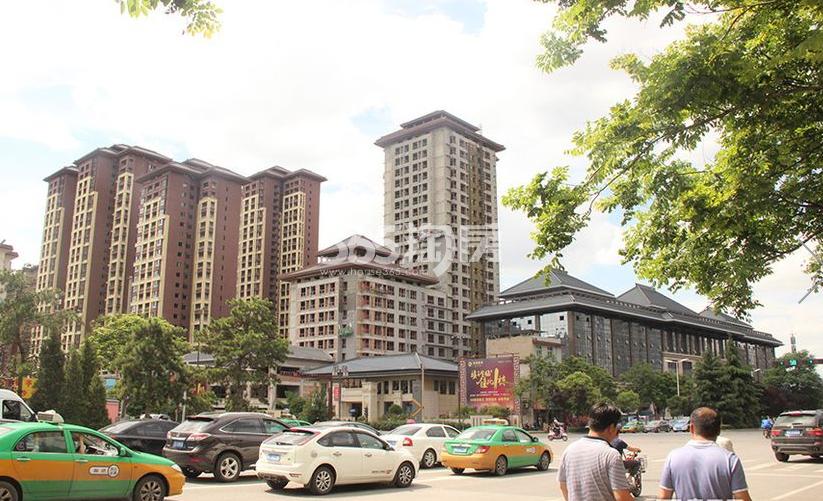 金叶新城实景图