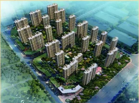 城置国际花园城四期万锦城鸟瞰图