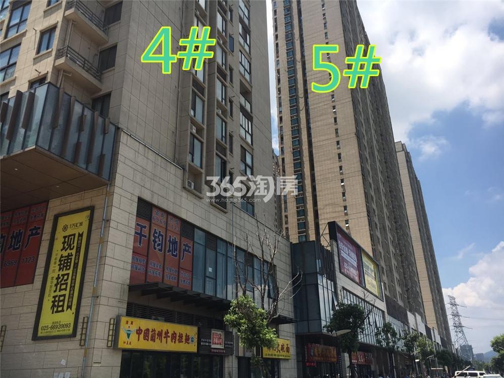东方万汇城北区4、5#底商实景图(9.7)