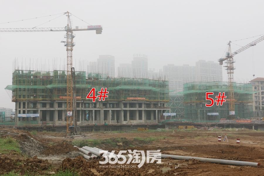 卓瑞北宸龙湖湾4#5#正在施工(2017.9摄)