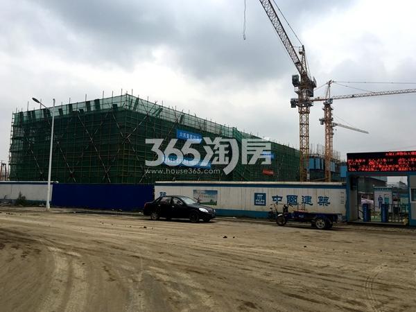 启迪协信无锡科技城A地块在建幼儿园工程实景(2017.9摄)