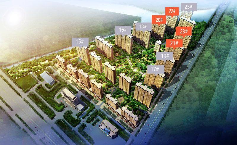 尚东辉煌城鸟瞰图