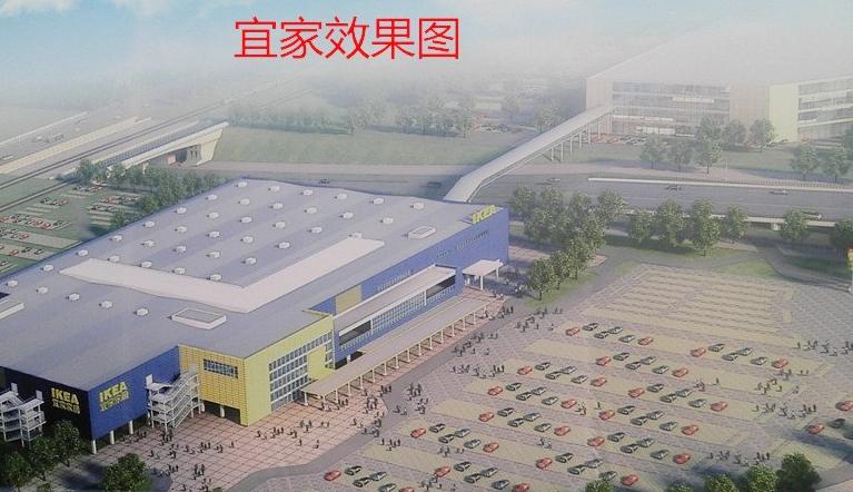 苏州新区城铁新城总体规划效果图,高铁新城楼盘升值潜力巨大